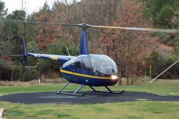 Robinson R44 de formation
